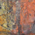 Lava and dike in Thirhnugigur volcanic vent.