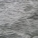 Finely rippled Icelandic flow surface.