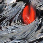 Window in an SU lava flow.