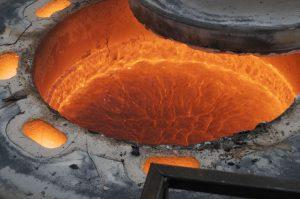 molten lava