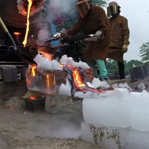 cooking on lava