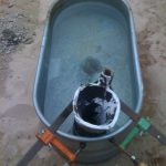 small water trough