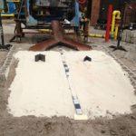 dry sand slope