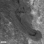 lunar lava flow