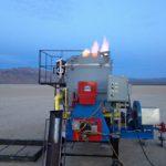 making lava in the desert